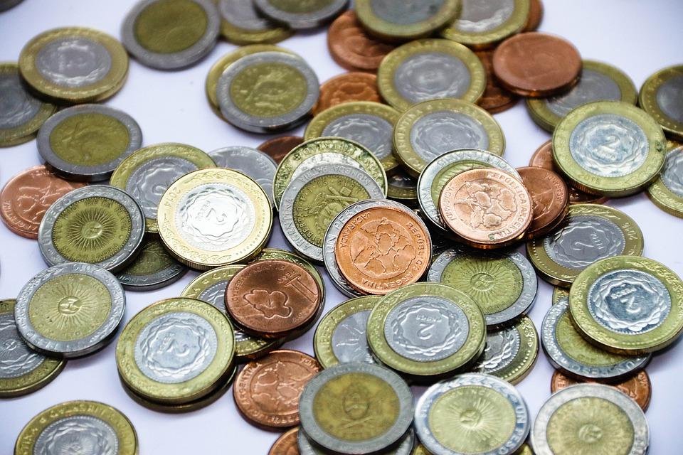 argentinské mince